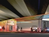 Urban service station by Arkhenspaces