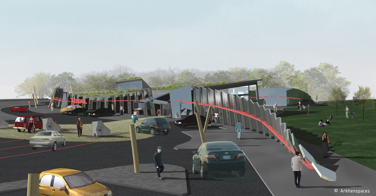 2005 2008 motorway services station network france arkhenspaces. Black Bedroom Furniture Sets. Home Design Ideas