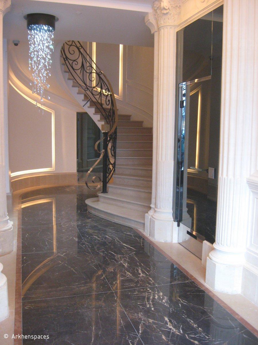 Rehabilitation Of An Haussmann Style Building Elevator Lift