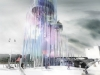 InstrumenTower - visual & musical interactive instrument building by Arkhenspaces