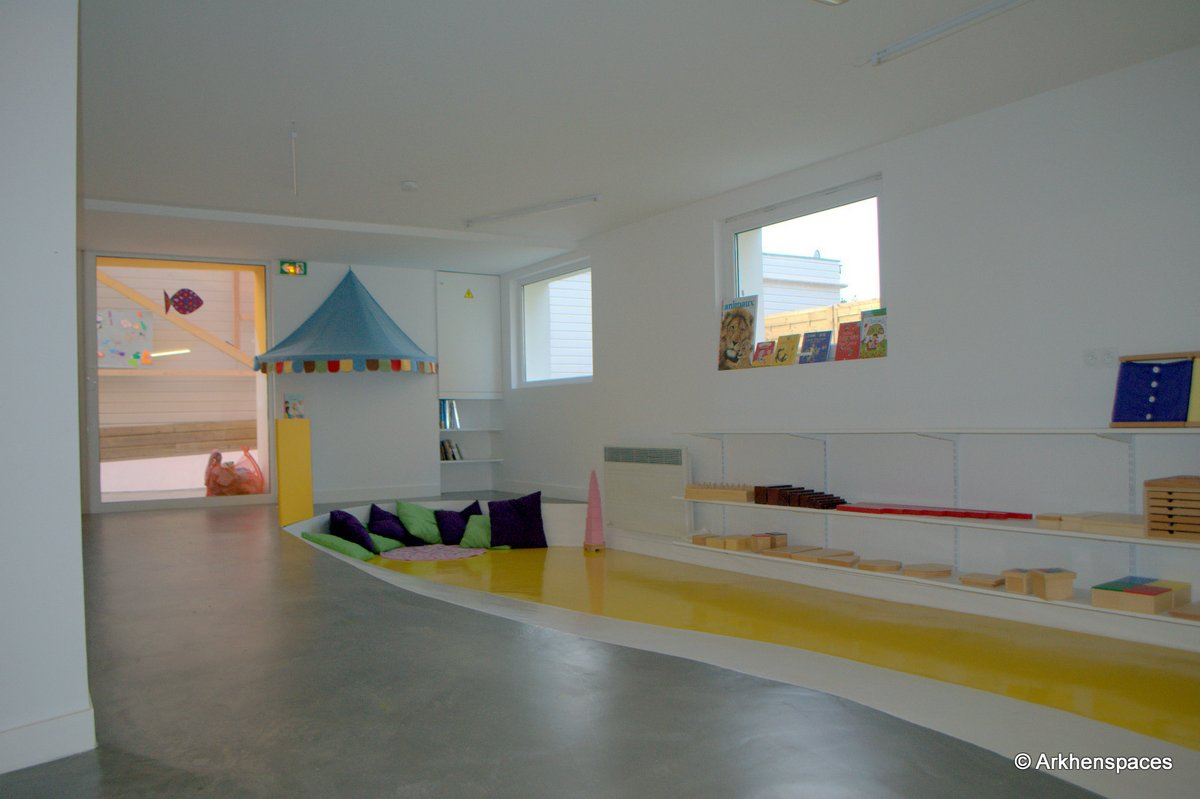 2012 nursery school el nido poissy france arkhenspaces. Black Bedroom Furniture Sets. Home Design Ideas