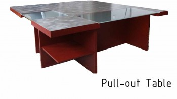 Pull-out table