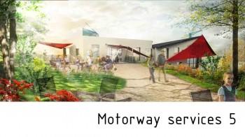Motorway services station