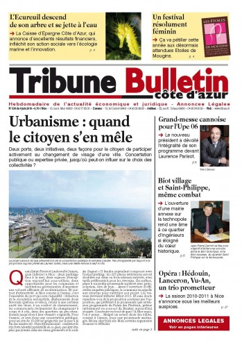 Newspaper La Tribune