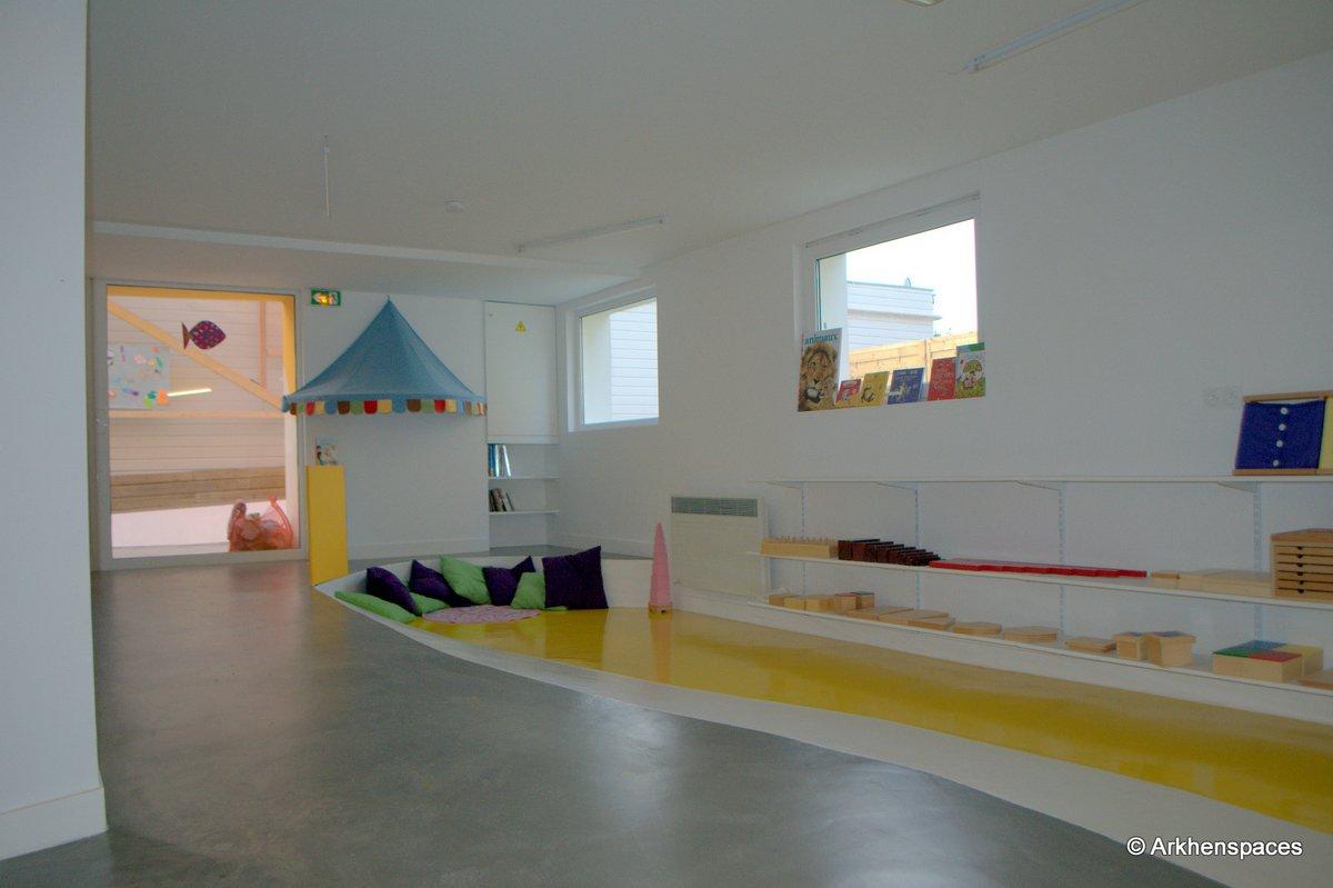 2012 ecole maternelle el nido poissy france for Raumgestaltung montessori