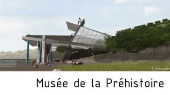 Musée de la préhistoire Jeongok Corée par Arkhenspaces