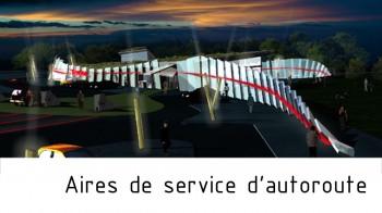 aires de service autoroute par arkhenspaces