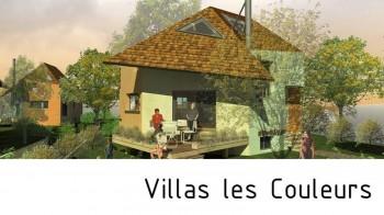 Villas Les Couleurs Angerville France par Arkhenspaces