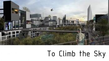 Climbing Copenhaguen Sky (3D Town) Copenhague Danemark par Arkhenspaces