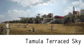 Tamula terraced sky area Vorù Estonie par Arkhenspaces
