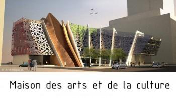 Maisons des arts et de la culture Beyrouth Liban par Arkhenspaces