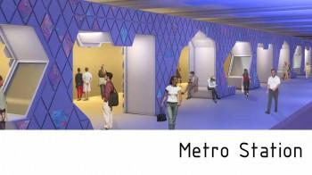 station de métro par Arkhenspaces