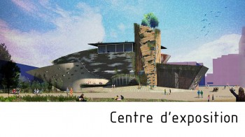 Centre d'exposition de Veliko par Arkhenspaces