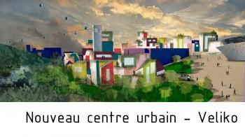 Nouveau centre urbain à Veliko Tarnovo par Arkhenspaces