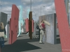 Interactive motorway landscape, A66 Middlesbrough, UK by Arkhenspaces